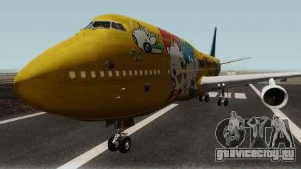 Boeing 747-400 ANA Pokemon Jet для GTA San Andreas