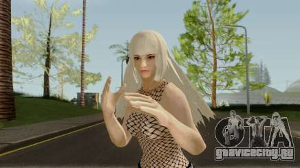 Lili Takken7 Updated (Blonde) для GTA San Andreas