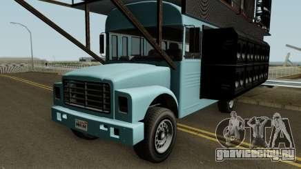 Vapid Festival Bus GTA V для GTA San Andreas