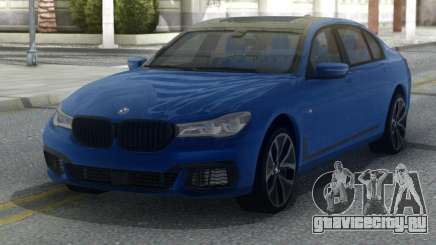 BMW M760LI 2018 для GTA San Andreas