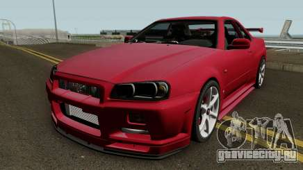 Nissan Skyline GTR R-34 Stock для GTA San Andreas