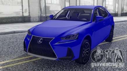 Lexus IS-F 2018 для GTA San Andreas