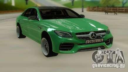 Mercedes-Benz E63 W213 Stock для GTA San Andreas