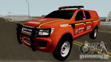Ford Ranger Brazilian Police для GTA San Andreas