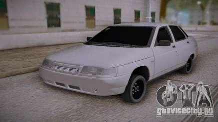 Лада 2110 Поцарапанная для GTA San Andreas
