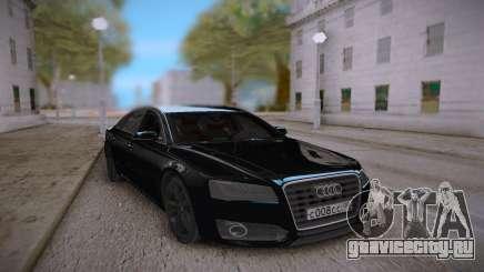 Audi S8L 2015 Black для GTA San Andreas