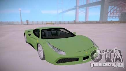 Ferrari 488 Low для GTA San Andreas