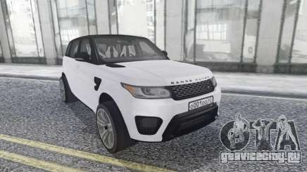 Land Rover Range Rover Sport SVR Stock для GTA San Andreas