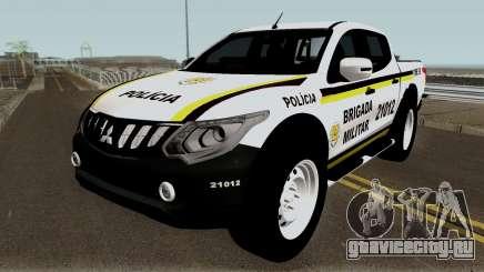 Mitsubishi Nova L-200 e Hilux da Brigada Militar для GTA San Andreas