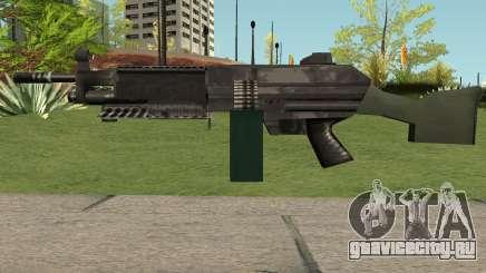 M249 Saw (SA Style) для GTA San Andreas