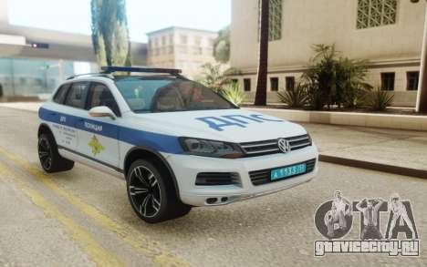 Volkswagen Touareg NF Russian Police для GTA San Andreas