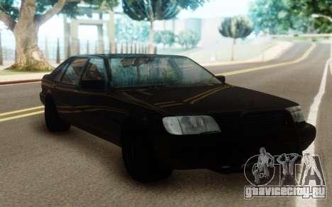 Mercedes-Benz S600 Pure Black для GTA San Andreas