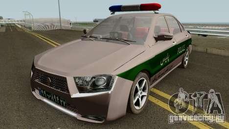 IKCO Dena v3 Police для GTA San Andreas