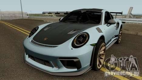 Porsche 911 GT3 RS 2018 для GTA San Andreas