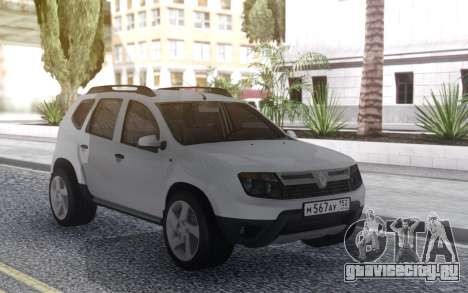 Renault Duster Stock 2012 для GTA San Andreas