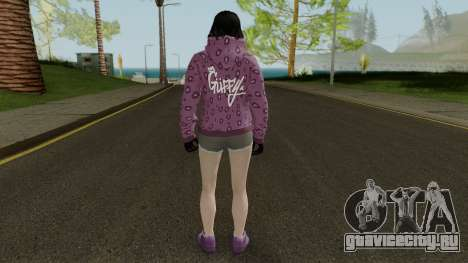 Skin DLC After Hours Female для GTA San Andreas