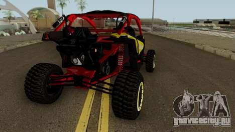 Can-Am Maverick X3 для GTA San Andreas вид справа