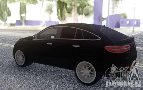 Mercedes-Benz GLE 63 4MATIC AMG для GTA San Andreas