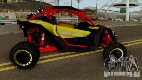 Can-Am Maverick X3 для GTA San Andreas вид сзади