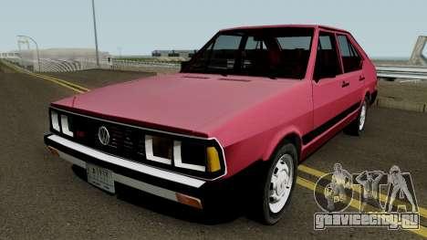 Volkswagen Passat Pointer LSE Iraque 1984 V2 для GTA San Andreas