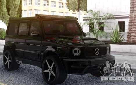 Mercedes-Benz G65 ONYX для GTA San Andreas