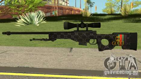 Sniper Rifle Gucci для GTA San Andreas