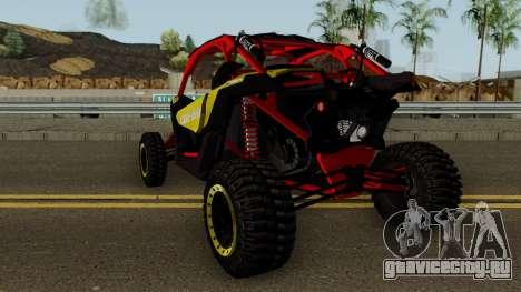 Can-Am Maverick X3 для GTA San Andreas вид сзади слева