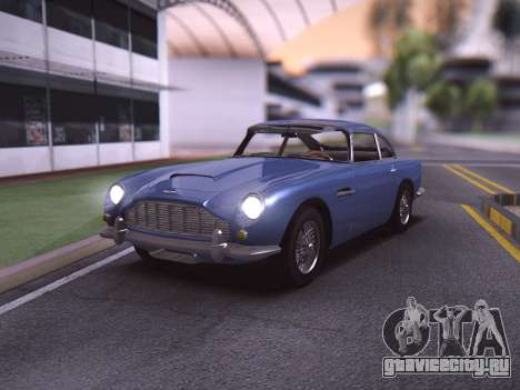 Aston Martin DB5 Agent 007 для GTA San Andreas