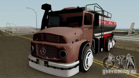 Mercedes-Benz 1924 (Fuel Tanker 1981) для GTA San Andreas