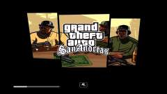 GTA V Style Loadscreens (San Andreas) для GTA San Andreas