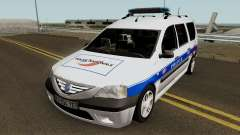 Dacia Logan MCV - Police Nationale 2004