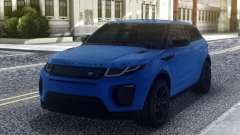 Land Rover Range Rover Evoque Blue для GTA San Andreas