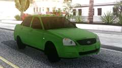 Lada Priora Green для GTA San Andreas