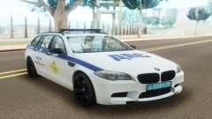 BMW M5 F11 Police