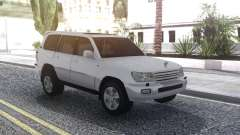 Toyota Land Cruiser 105 White для GTA San Andreas