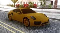 Porsche 911 Yellow для GTA San Andreas