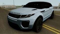 Land Rover Range Rover Evoque HQ для GTA San Andreas