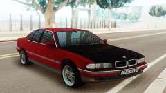 BMW 730 E38 Red Black для GTA San Andreas