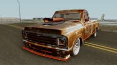 Chevrolet C-10 Custom Pickup Beater 1967 для GTA San Andreas