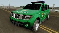 Nissan Pathfinder Hatarorseg для GTA San Andreas