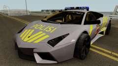Lamborghini Reventon Polres Indonesia для GTA San Andreas