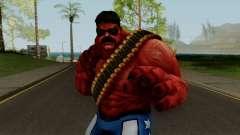 MFF Red Hulk USA Avengers для GTA San Andreas