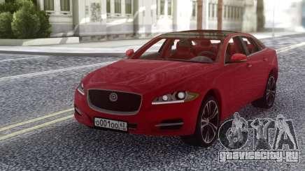 Jaguar XJ 2010 Red для GTA San Andreas