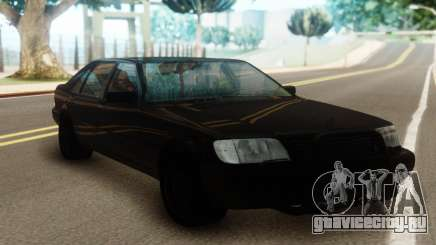Mercedes-Benz S600 Pure Black для GTA San Andreas
