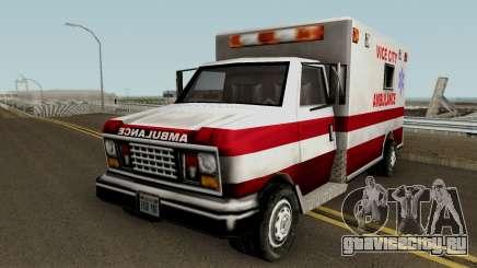 Ambulance from Vice City для GTA San Andreas