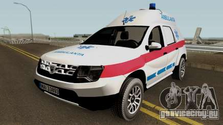 Dacia Duster Ambulanta 2018 для GTA San Andreas
