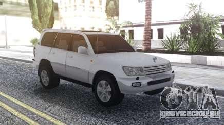 Toyota Land Cruiser 105 White для GTA San Andreas
