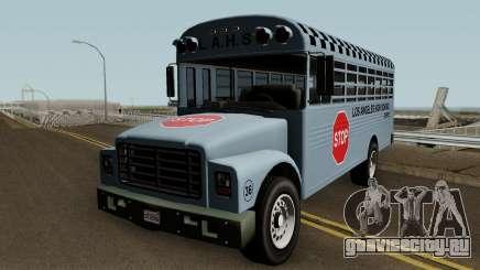 Vapid School Bus Los Angeles v1.0 GTA V для GTA San Andreas