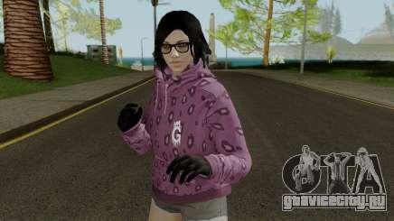 Skin DLC After Hours Female для GTA San Andreas