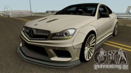 Mercedes Benz C63 AMG Coupe Liberty Walk 2014 для GTA San Andreas